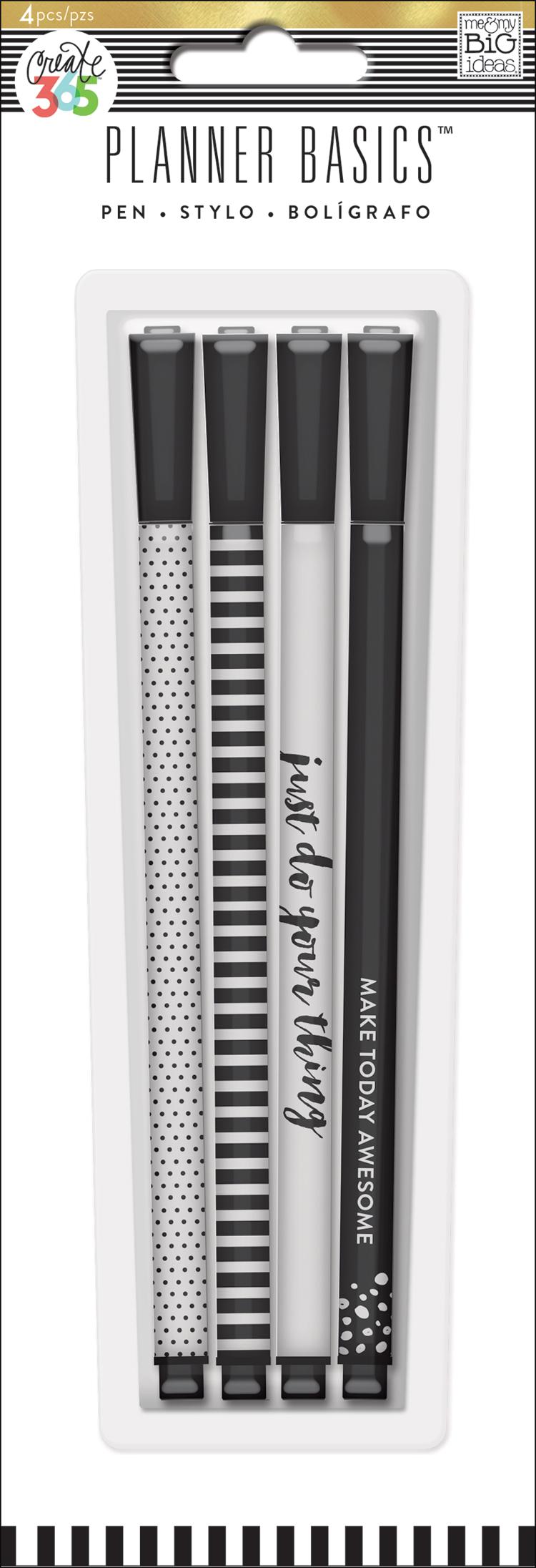 'Black & White' Planner Basics™ pens for The Happy Planner™ | me & my BIG ideas.jpg