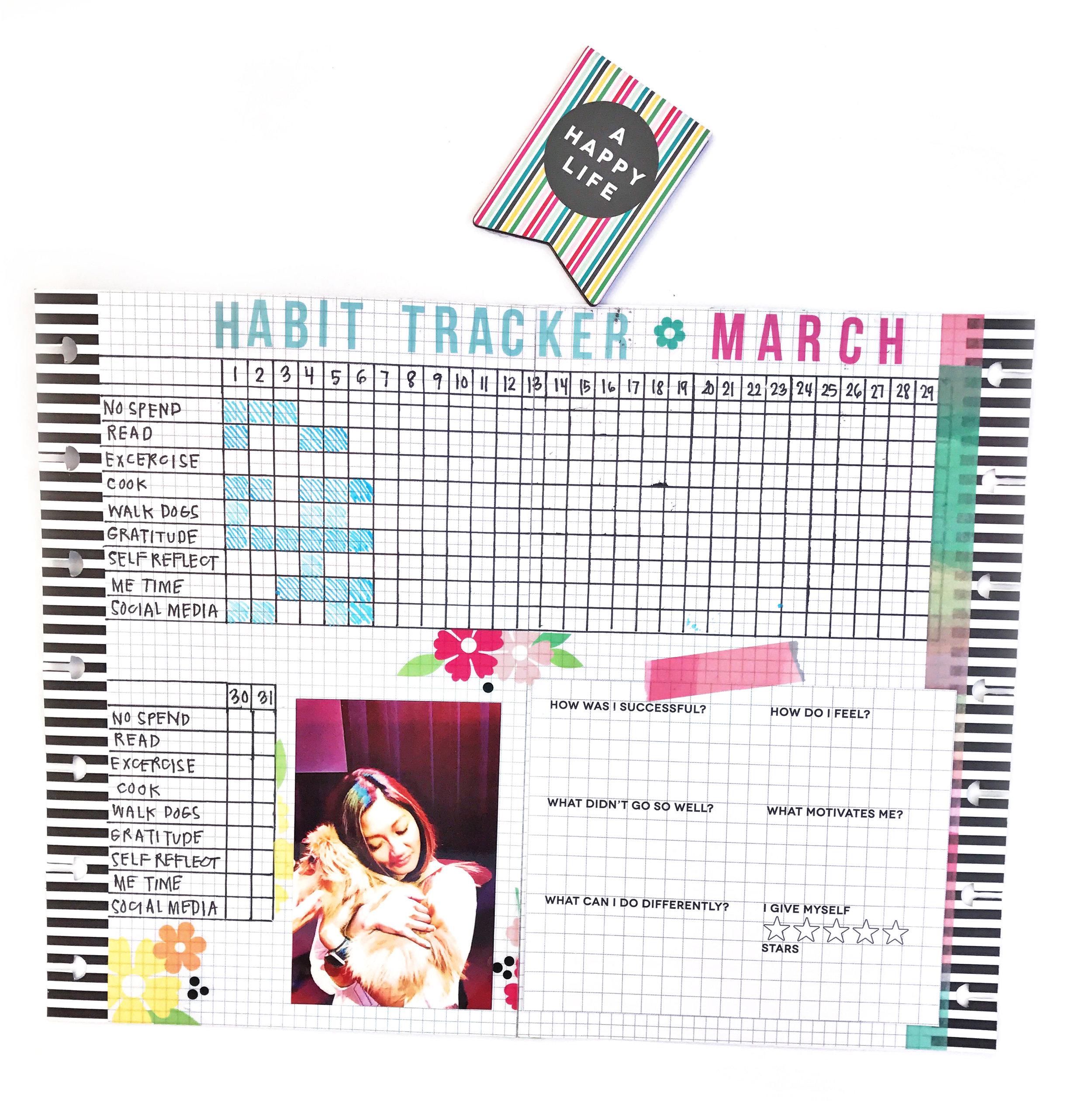 MINI Happy Planner® Bullet Journalling by mambi Design Team member Sheena MacComiskey | me & my BIG ideas