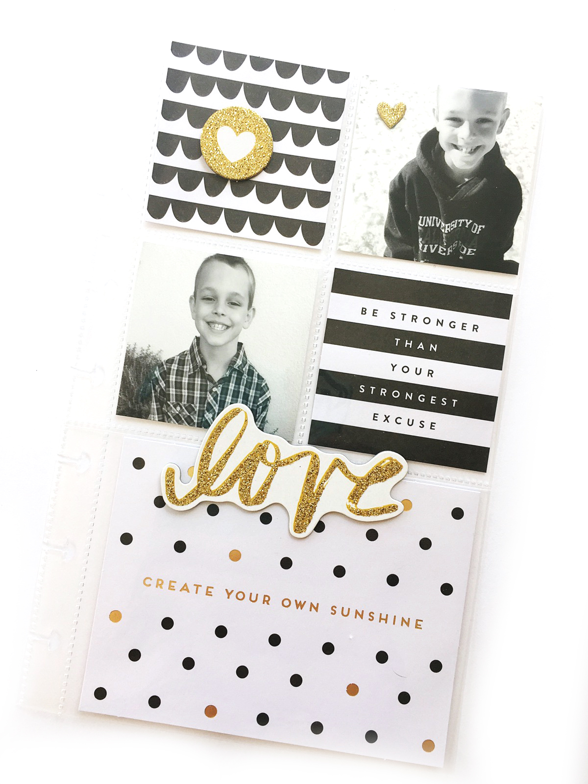 mini Happy Planner® memory keeping pocket pages by mambi Design Team member Jen Randall | me & my BIG ideas