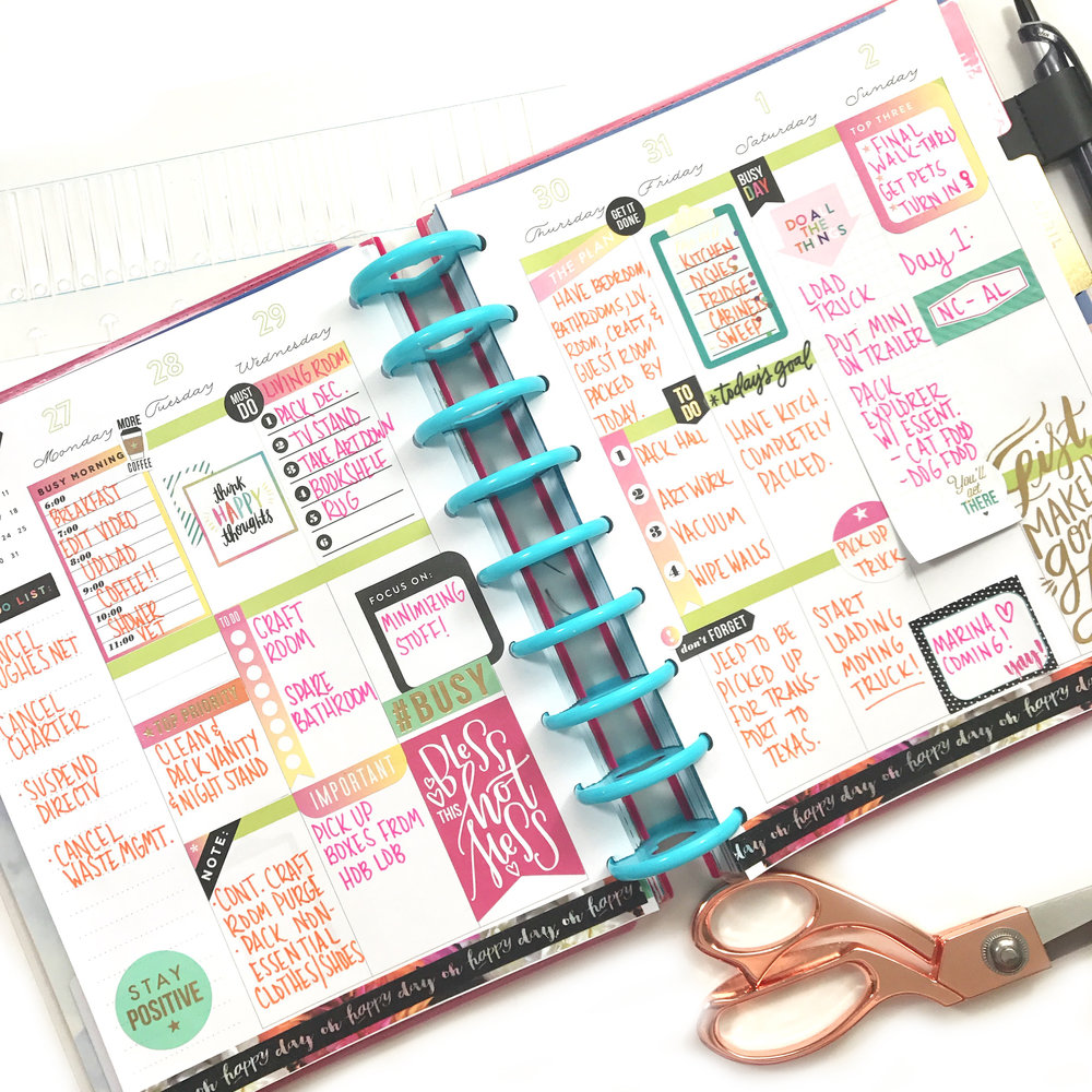 Create 365™ The Happy Planner™ — me & my BIG ideas