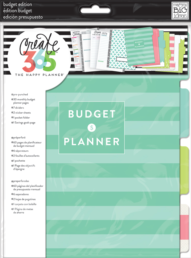 image regarding Happy Planner Budget Printable identify getting the regular monthly web pages of The Pleased Planner® Price range