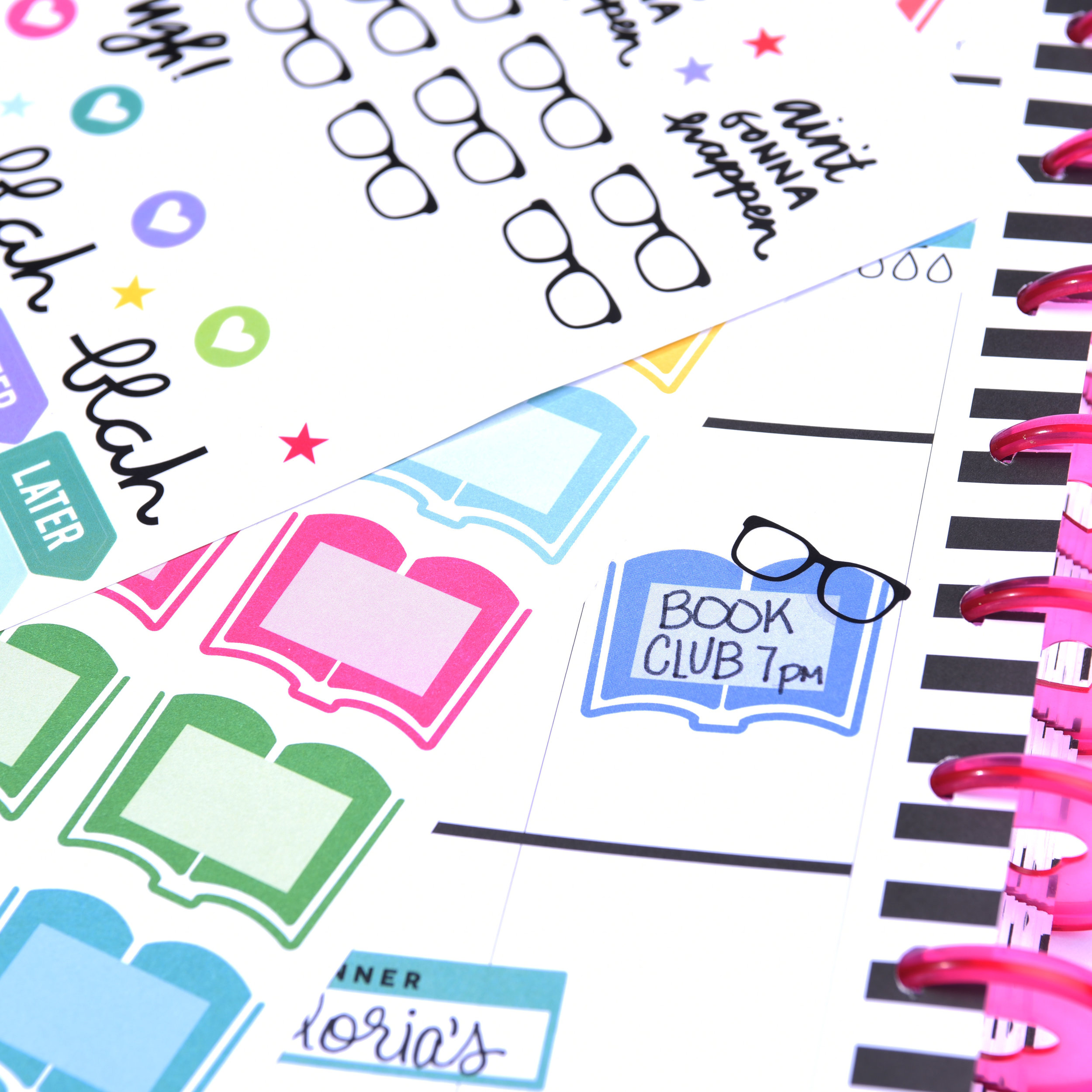 creative ways to use Happy Planner® stickers by mambi Design Team member Mariel Reyes | me & my BIG ideas