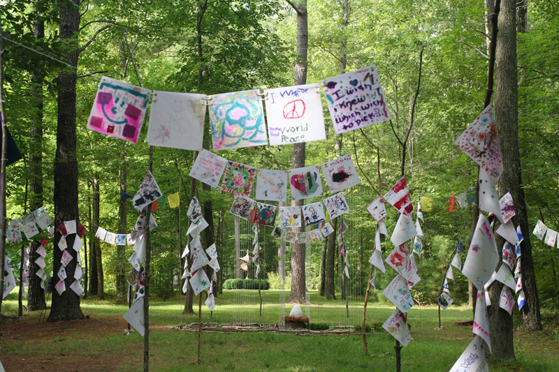 Wish Mandala with Wish Flags, 5 of 5