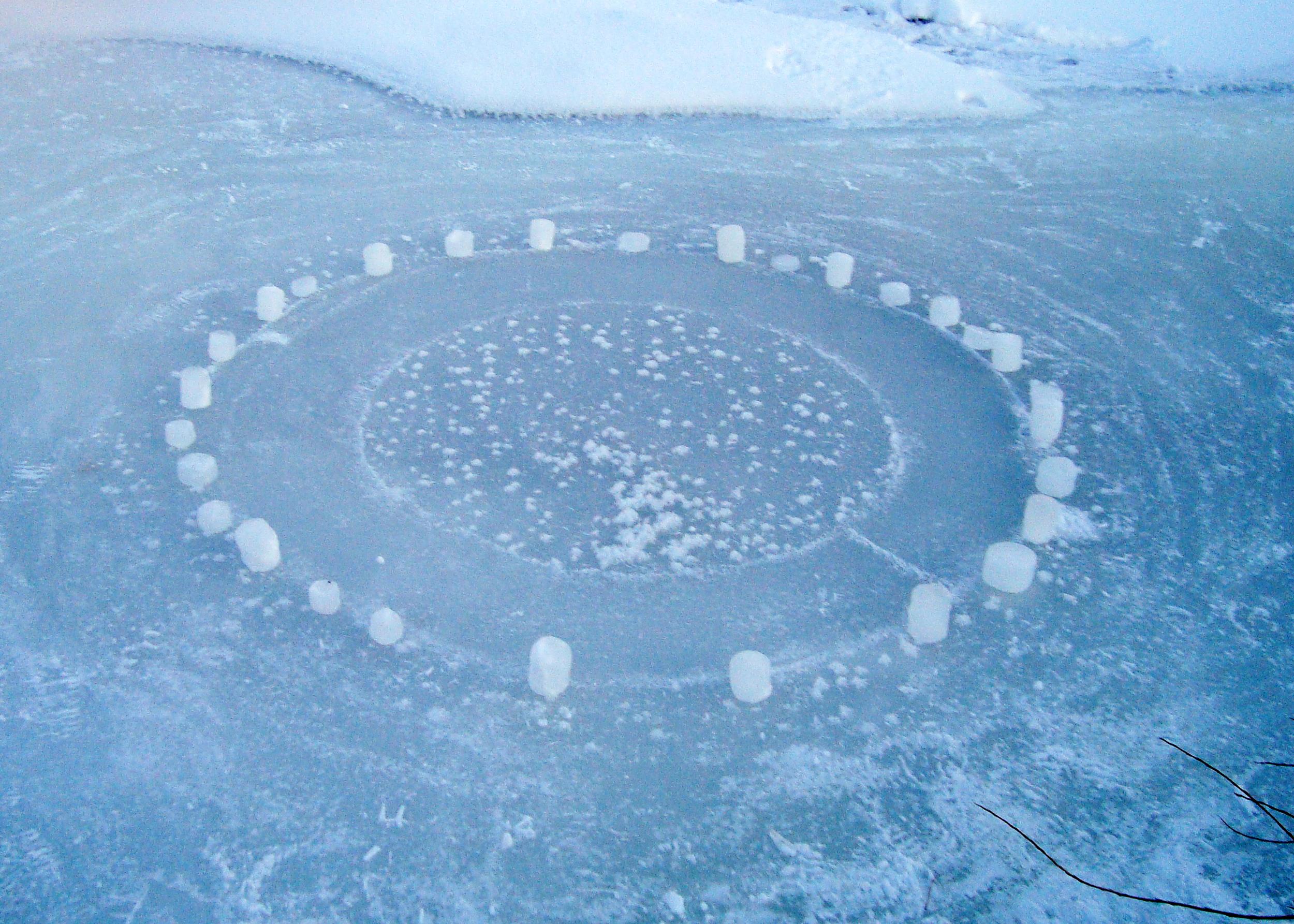Frozen Creek Mandala 1 of 5 (Day)