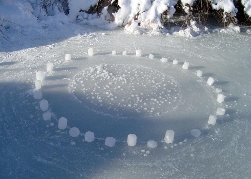 Frozen Creek Mandala 3 of 5 (Day)