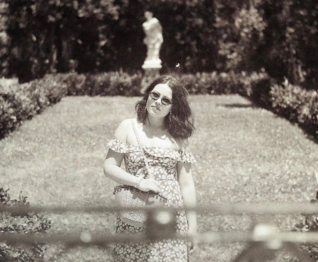 Finally got some film developed!  Here's Marinés in Vizcaya's orchid garden. Shot on a Yashica Mat-124 G. More to come  #yashica #tlr #120film #analoguephotography #filmisnotdead