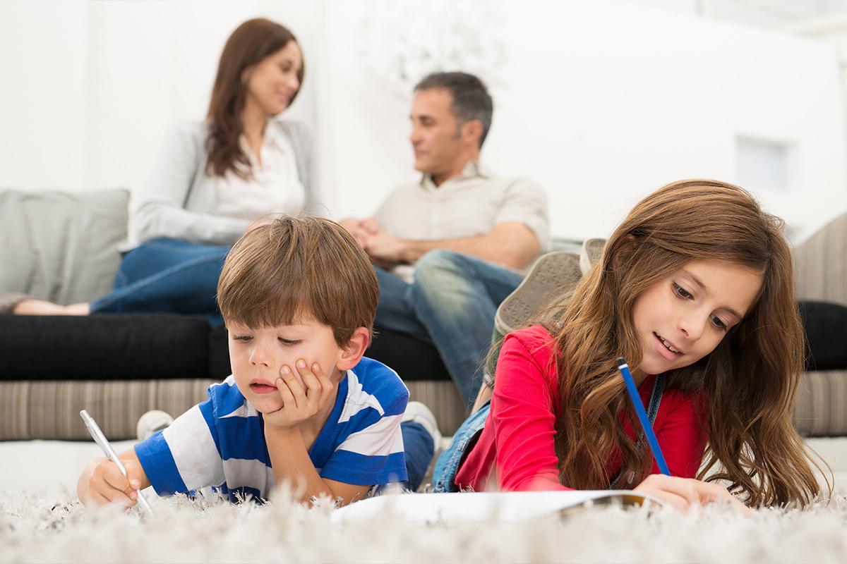 Página Familiar - Una página popular de la revista De Casa a Casa, llena de artículos y consejos familiares.
