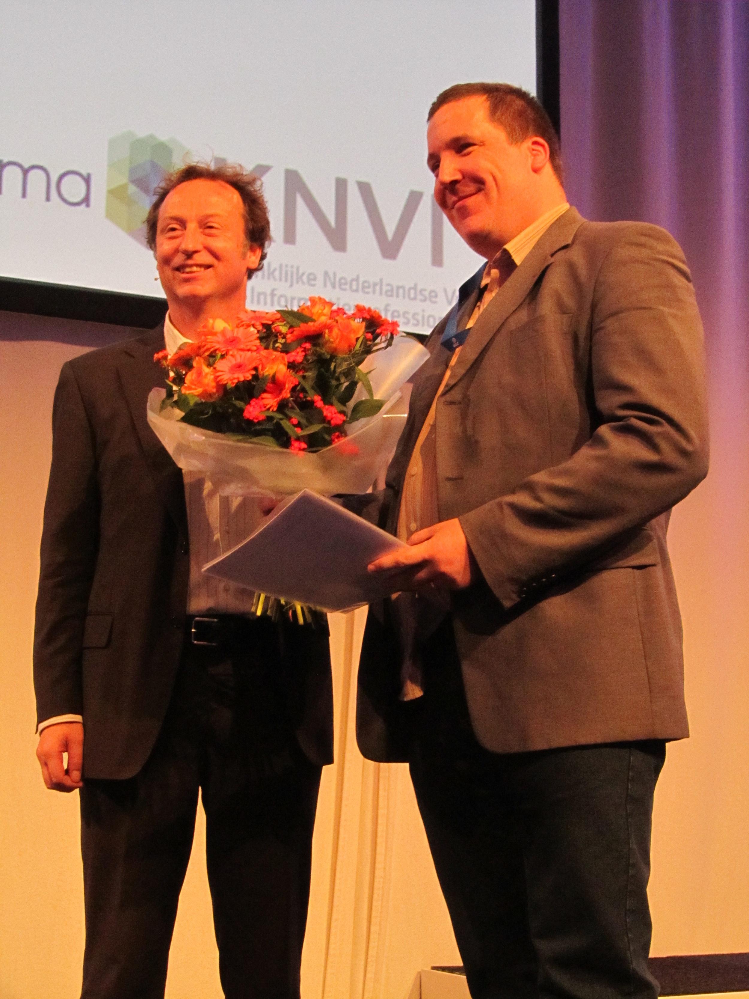 Victorine van Schaickprijs KNVI 2013 voor Raymond Snijders