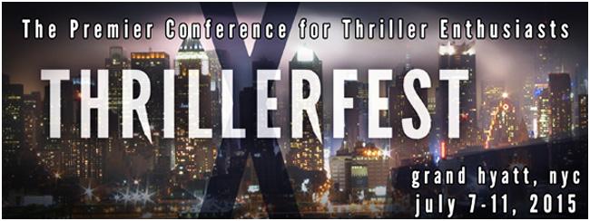 Thrillerfest X Panel