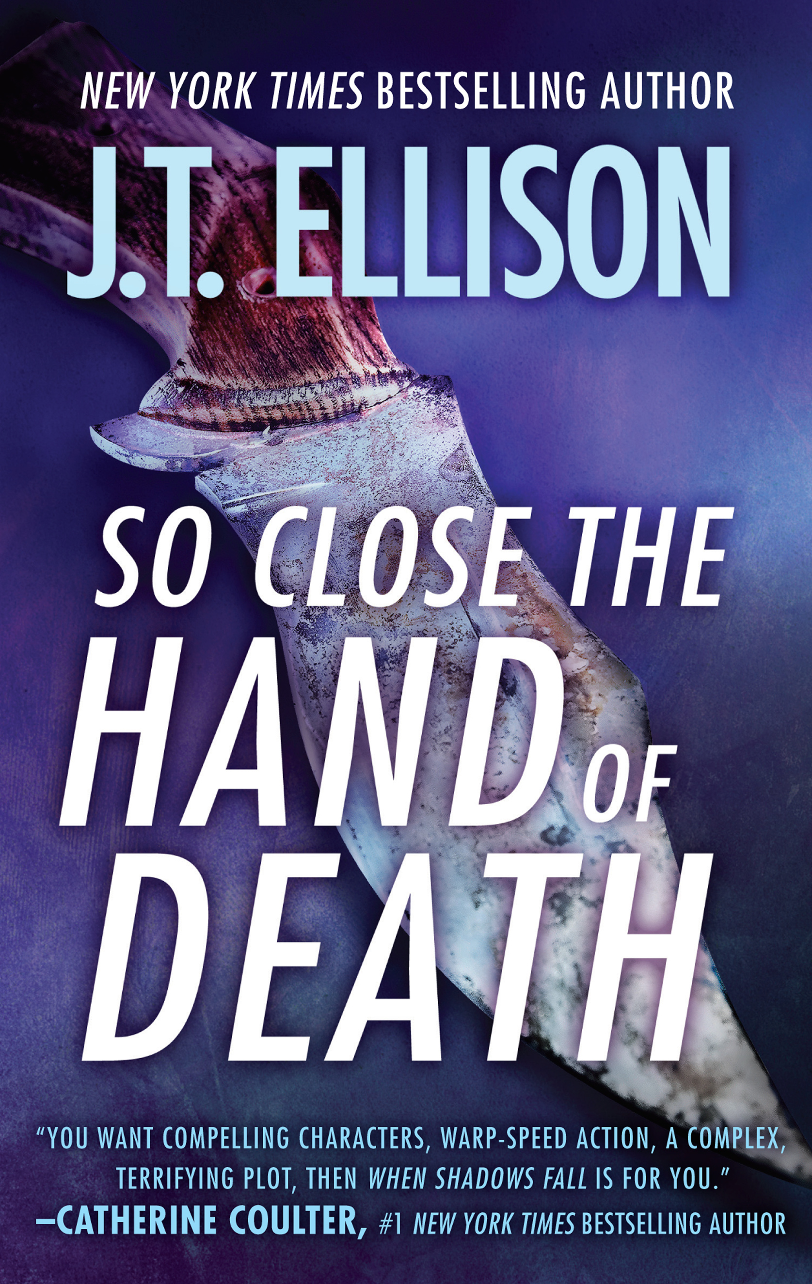 SO CLOSE TO THE HAND OF DEATH cover