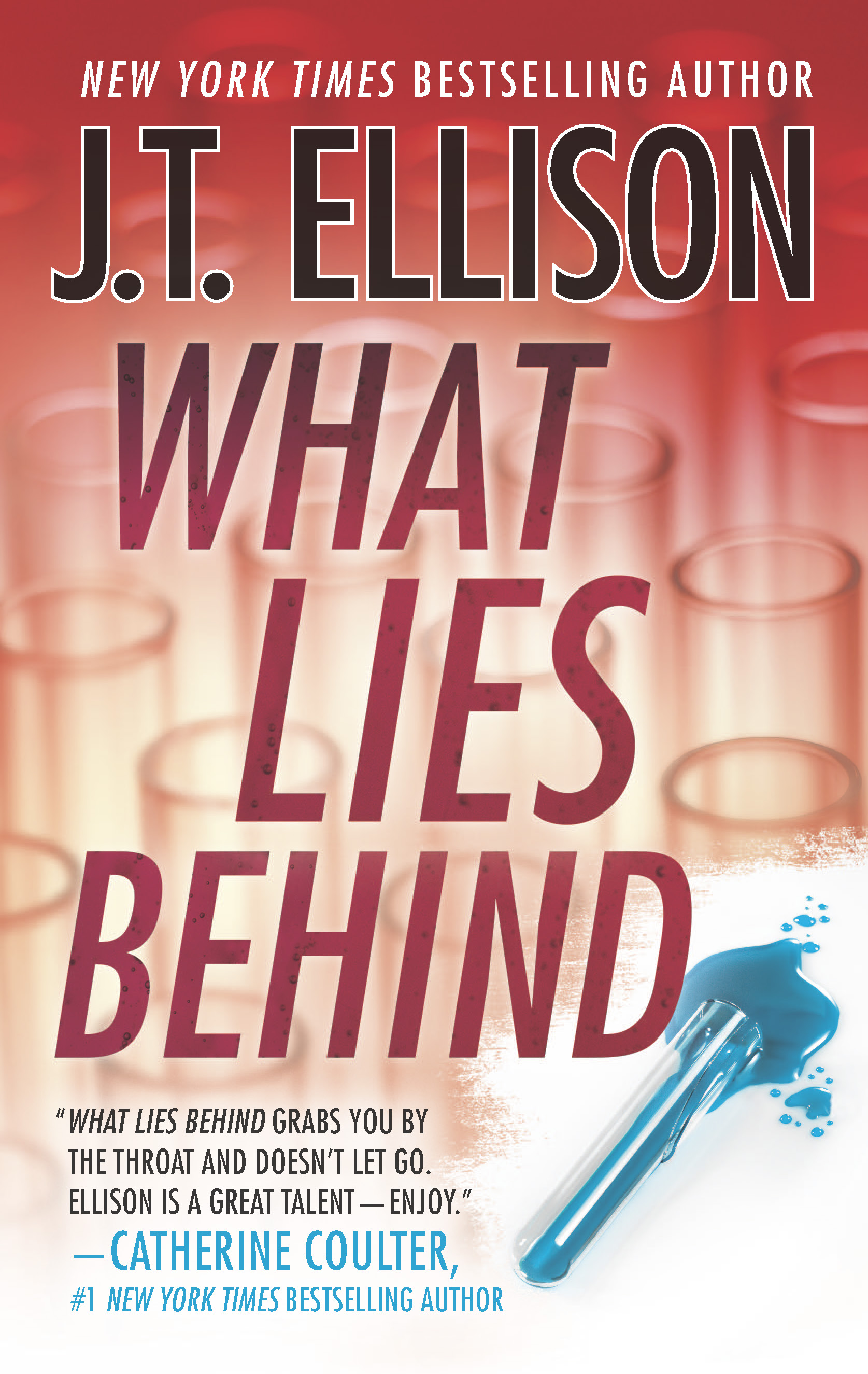 WHAT LIES BEHIND cover