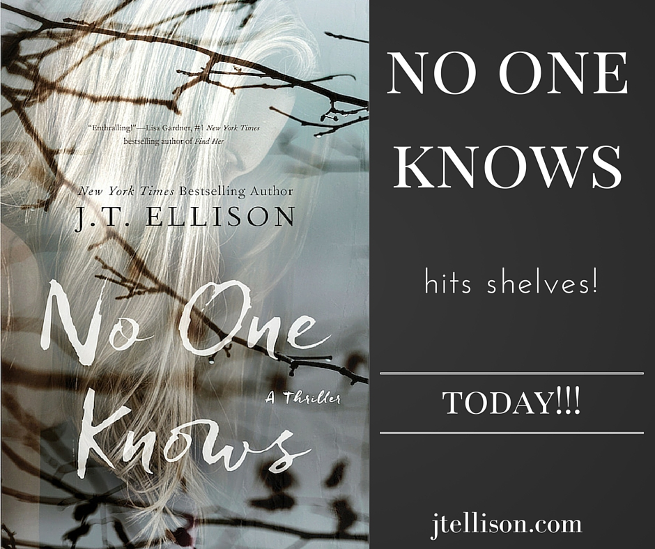 NO ONE KNOWS releases today!