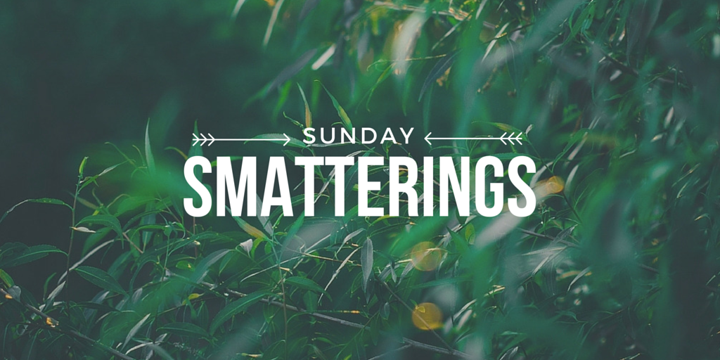 Sunday Smatterings 4.24.16