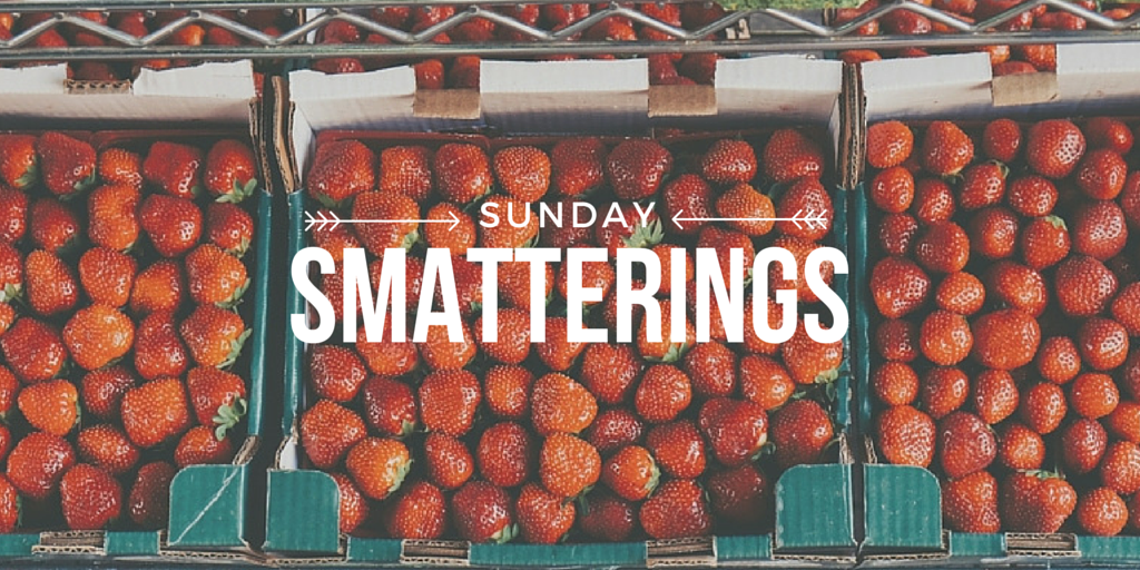 Sunday Smatterings 5.8.16