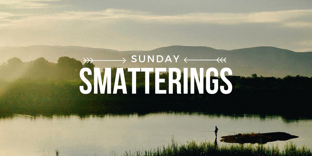Sunday Smatterings 6.26.16