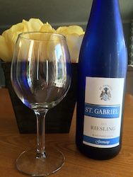 New Riesling!