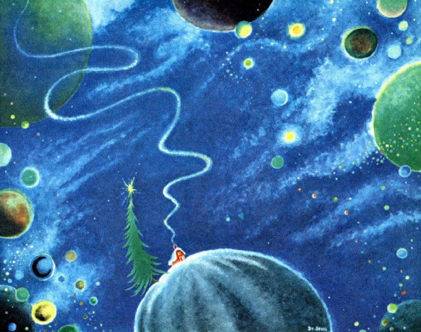 secret midnight paintings Dr. Seuss