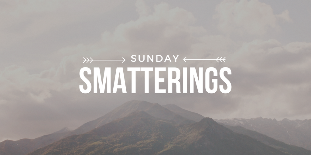 Sunday Smatterings 8.21.16