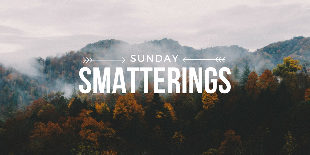 Sunday Smatterings 10.2.16