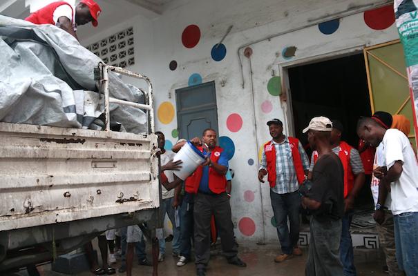 Haiti relief for Hurricane Matthew