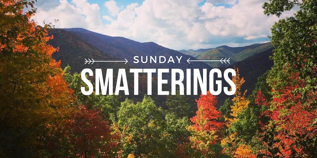 Sunday Smatterings 10.23.16
