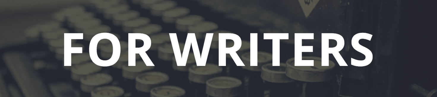 For Writers banner