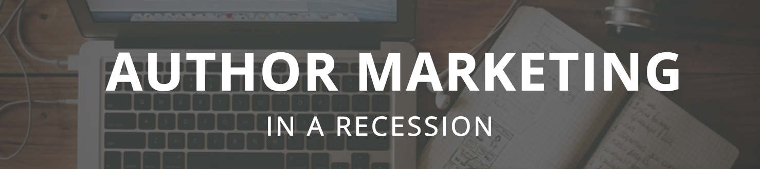 Author Marketing in a Recession banner