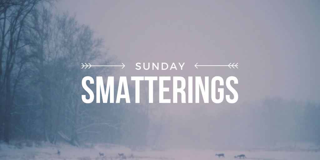 Sunday Smatterings 1.8.17