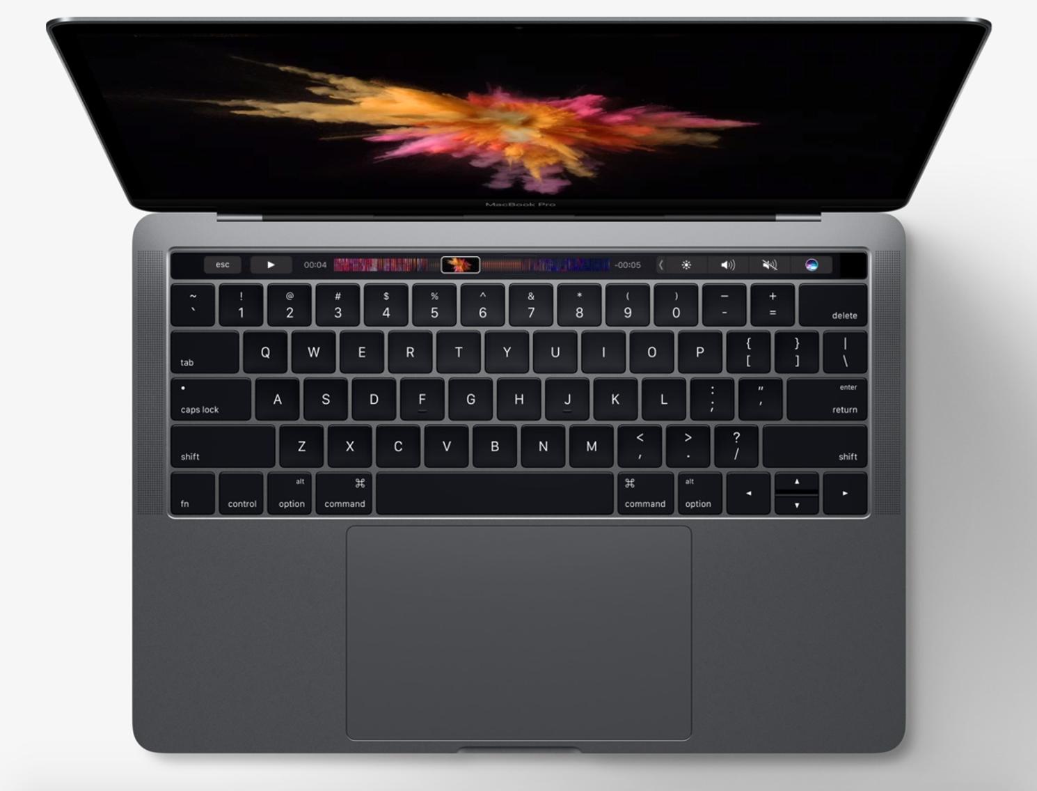 2017 MacBook Pro Keyboard