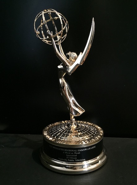 A WORD ON WORDS wins an Emmy!