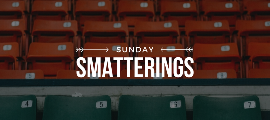 Sunday Smatterings 2.5.17