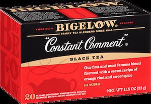 Constant Comment Bigelow tea