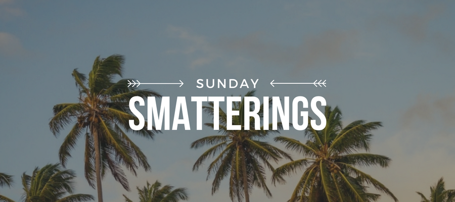 Sunday Smatterings 5.28.17