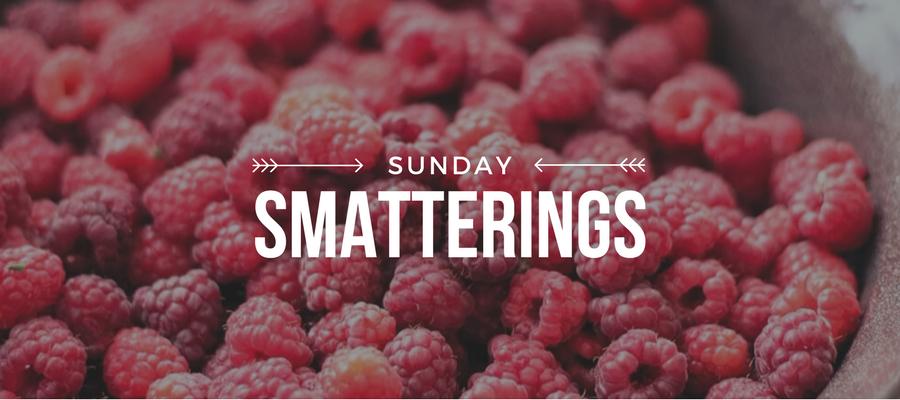 Sunday Smatterings 6.11.17