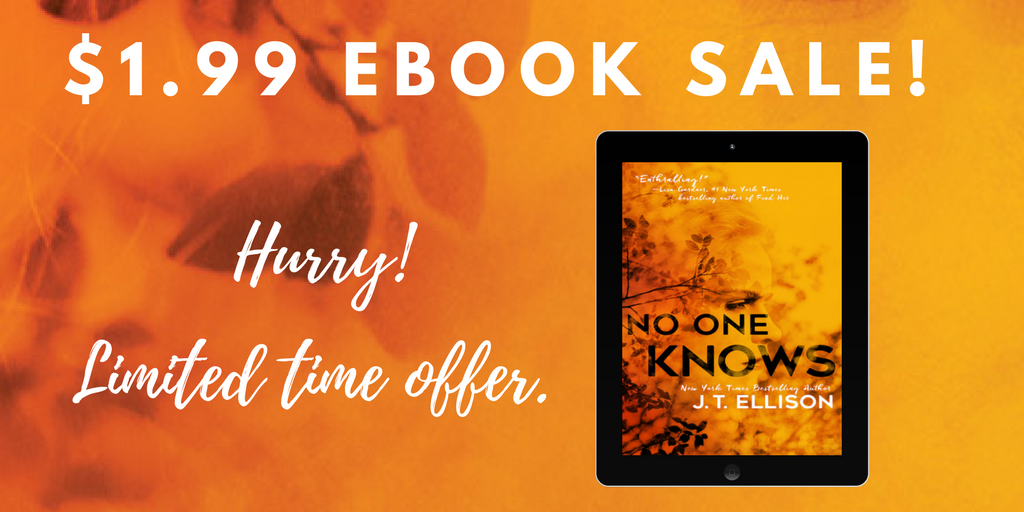 NO ONE KNOWS is $1.99!