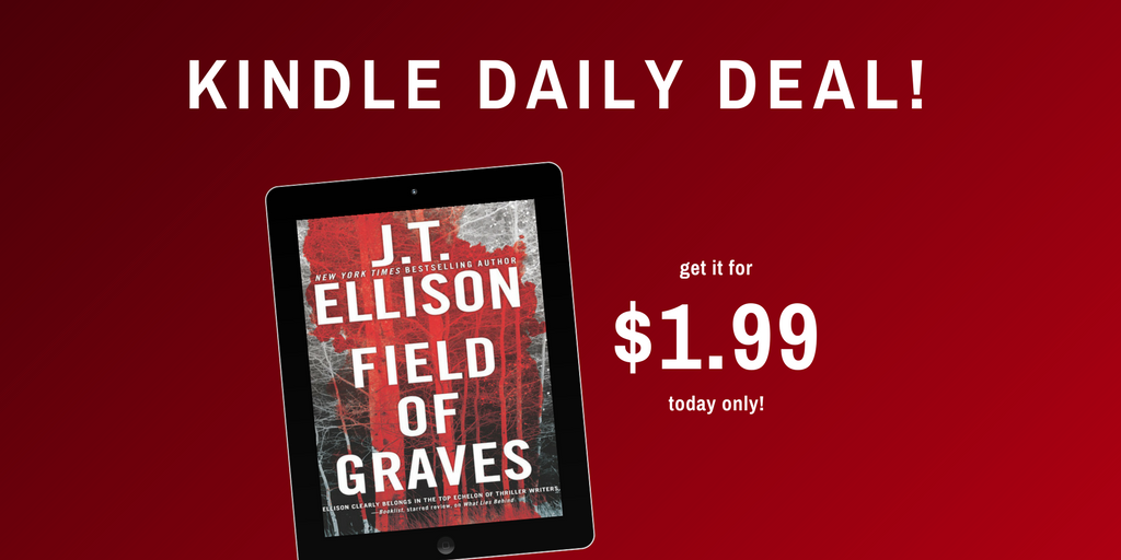 FIELD OF GRAVES $1.99 Kindle Daily Deal!