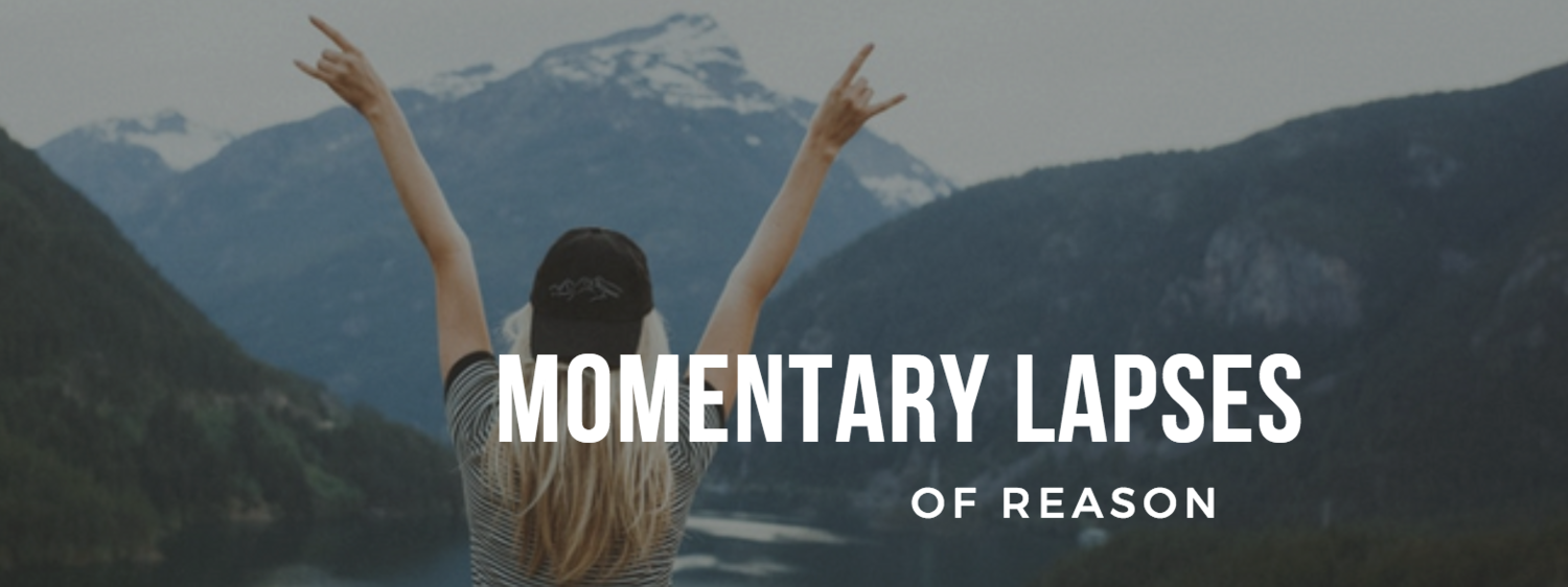 Momentary Lapses of Reason - 4 Words of Advice That Changed My Life