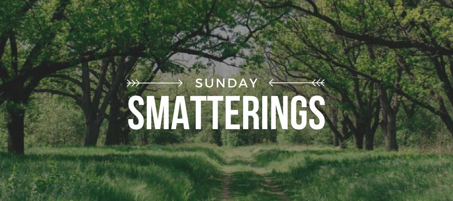 Sunday Smatterings 5.20.18