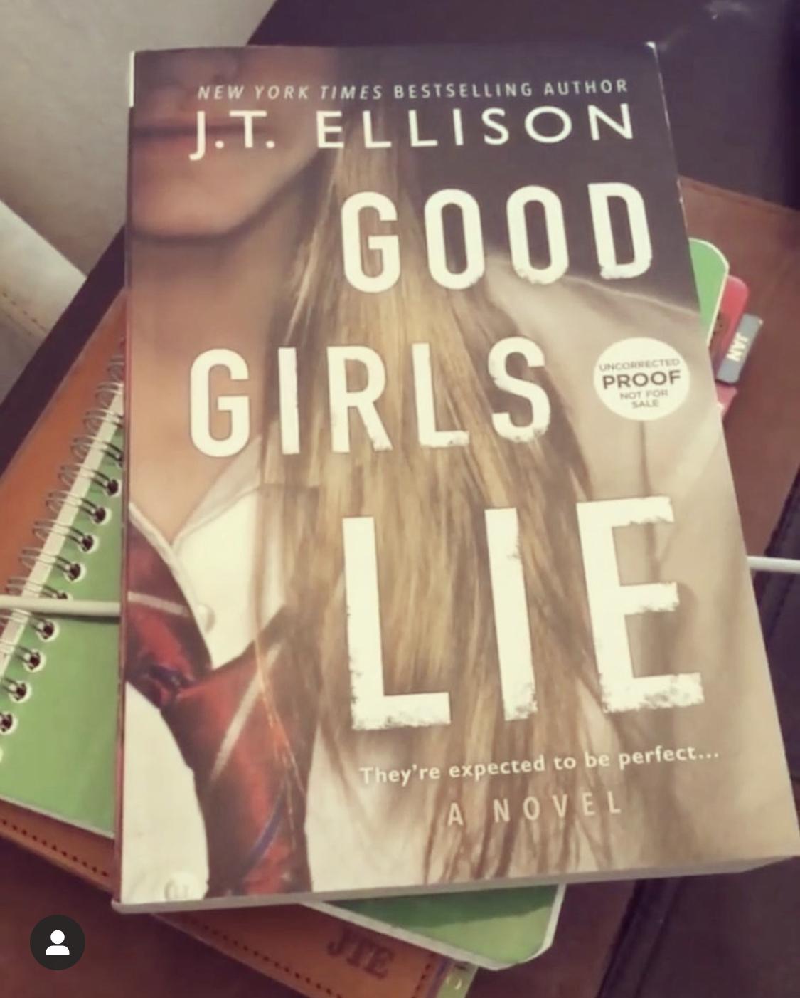 Good Girls Lie Galley
