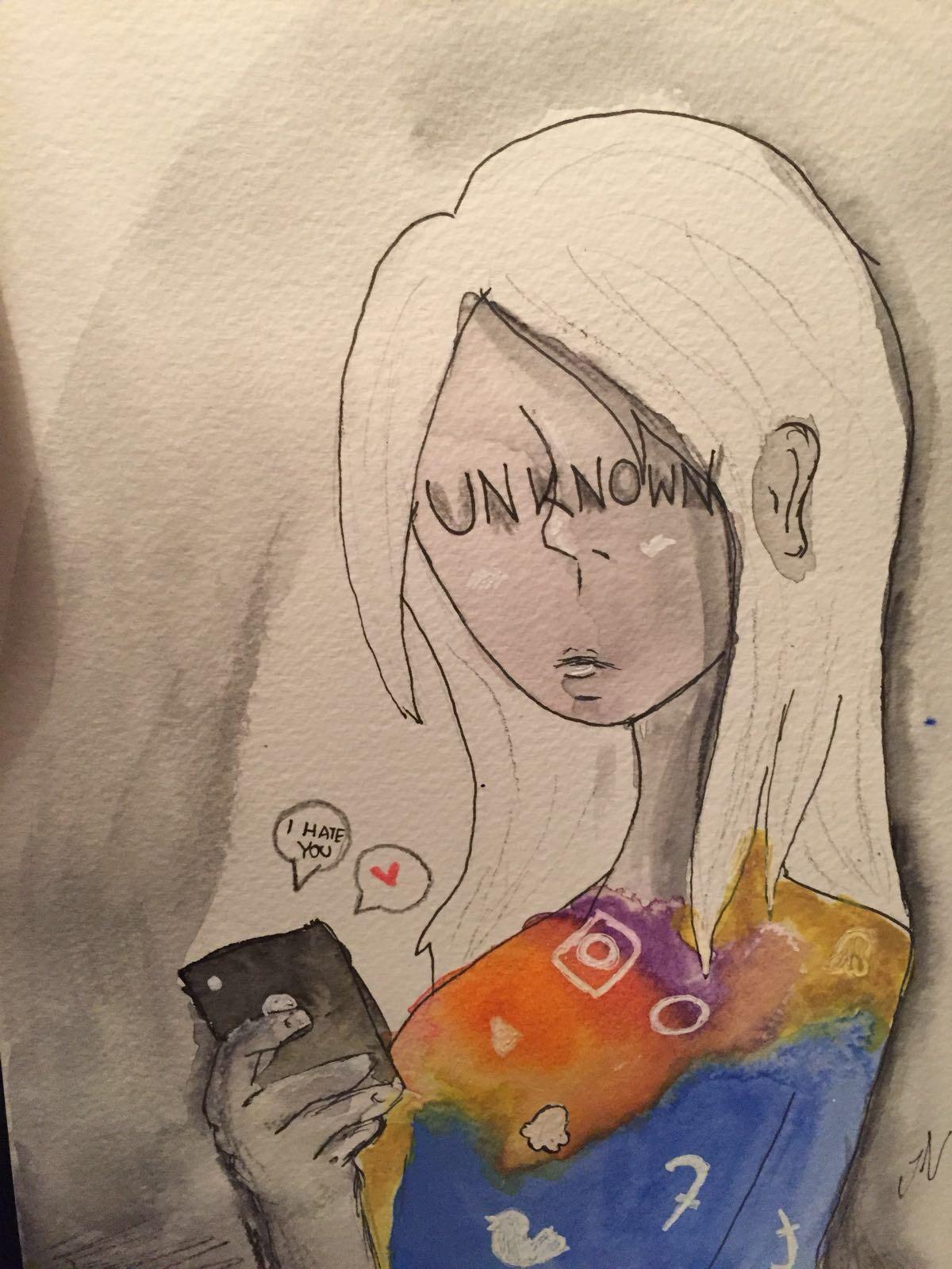®  gezeichnet von Judith Nieß, 14 Jahre