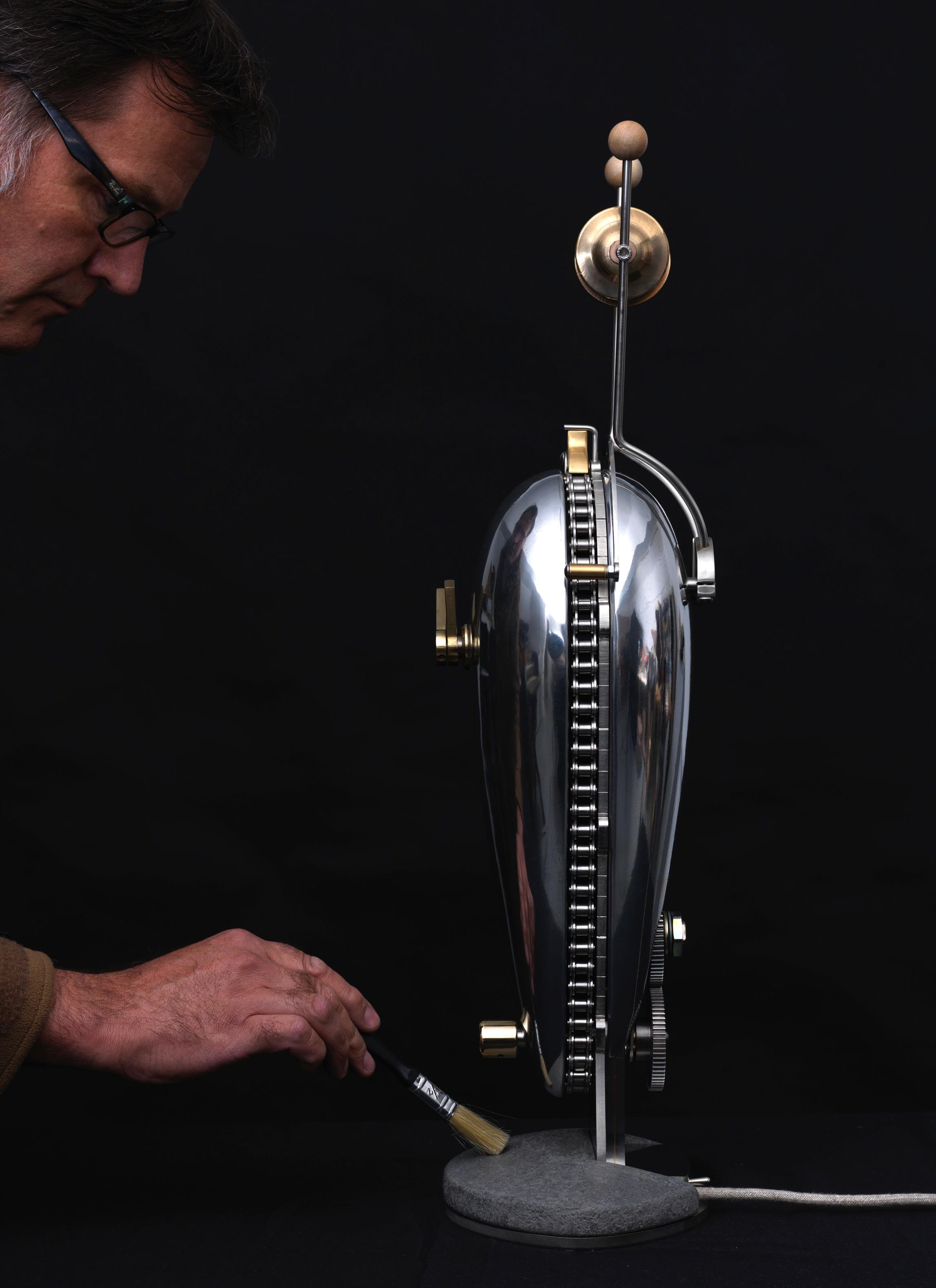 Kinetic clocks -