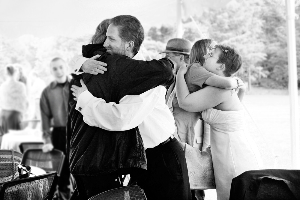 blackandwhiteweddingoutdoorcasualConnecticut-2.jpg