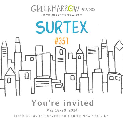 Surtex 2014 #351 greenmarrow studio