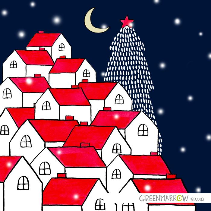 GreenmarrowStudio_ChristmasVillage