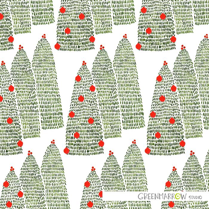 GreenmarrowStudio_ChristmasPineTree