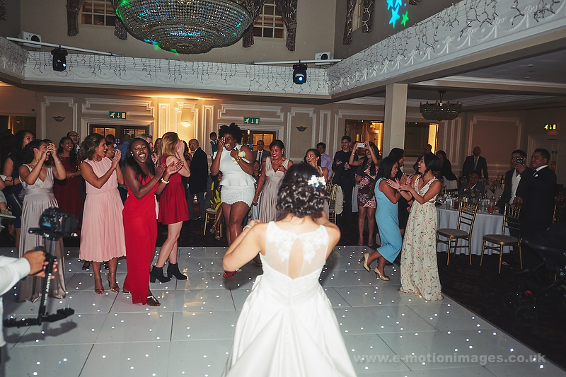 Natalie and Chris's wedding day. 4th October 2014.