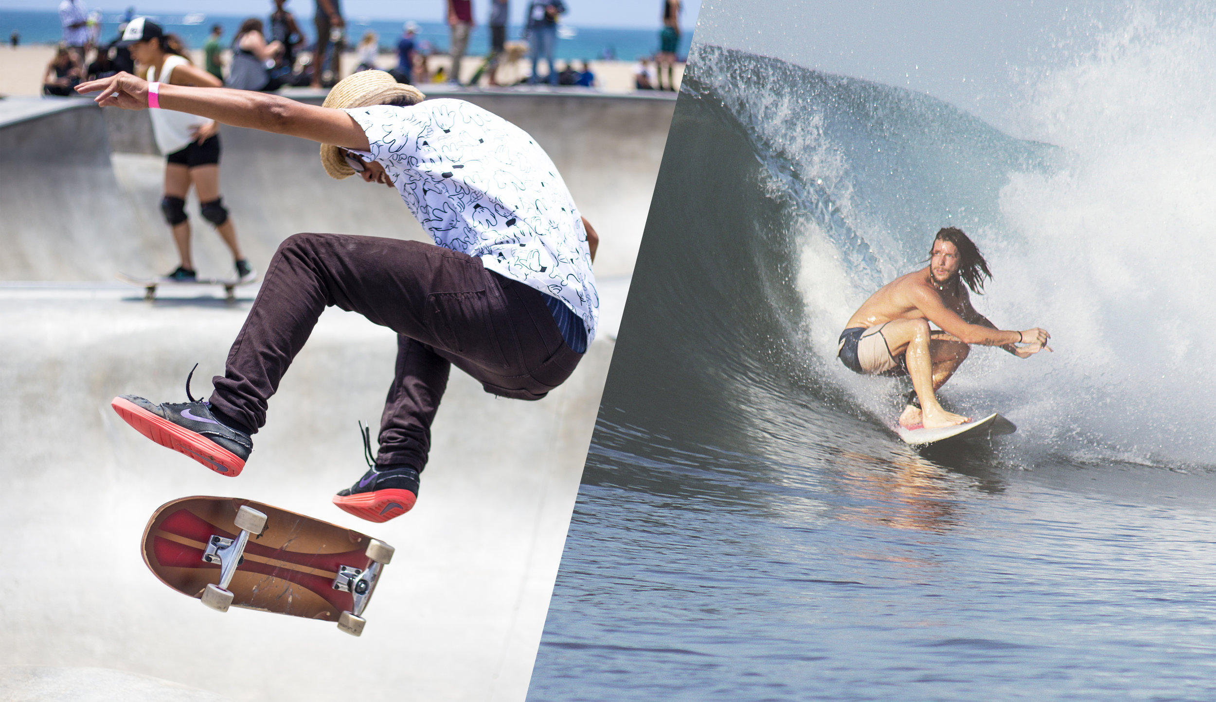 skateboard vs surf