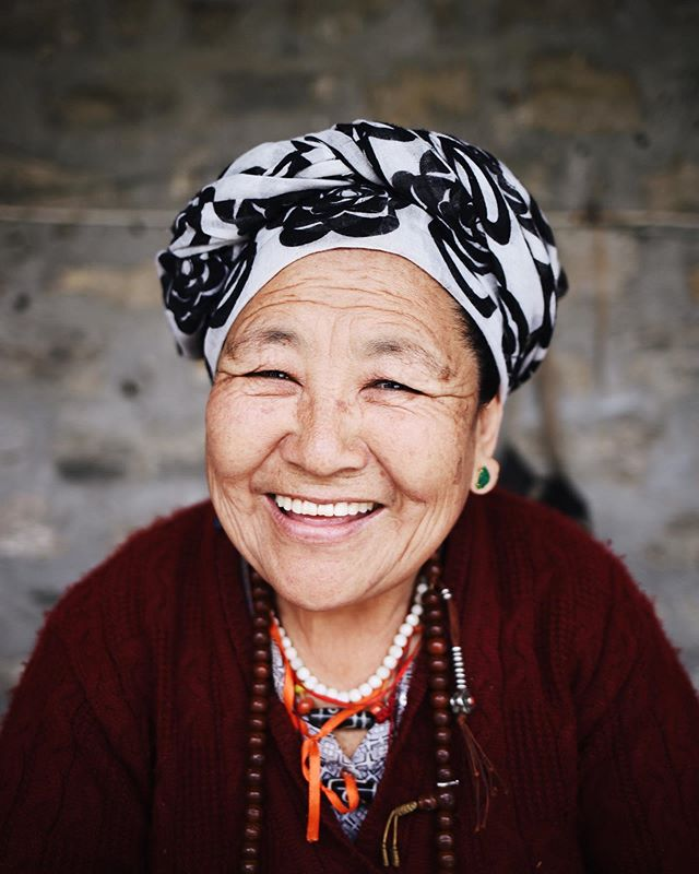 We love that we get to send our outreach teams to the nations, and hear stories from all over the world.  This is Dalma. A Tibetan Refugee who was uprooted from her country in 1959. She and her husband moved, having to start a new life and learn a new language. He worked as a farmer, and she did what she knew to do best — make jewelry. Today she remains working with jewelry, and owns this little shop at her refugee camp. Her business relies mostly on tourists who are passing through on their way to trek the mountains, and she makes every single piece by hand. Even though we hardly spoke the same language, we were able to connect over our shared love for colourful beads. It goes to show you never know the unlikely places or circumstances you'll find a friend in someone, and that relationships can form in the most unexpected ways. There's millions of beautiful people out there, just waiting to have their voice heard. Will you ask to hear someone's story today?