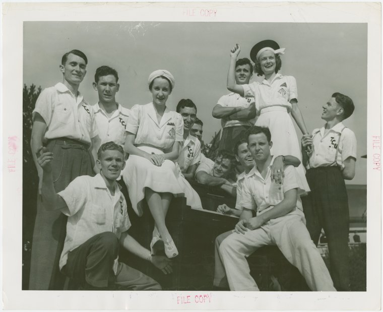 Texas Participation-Members of Texas Christian University Glee Club, 1935-1945