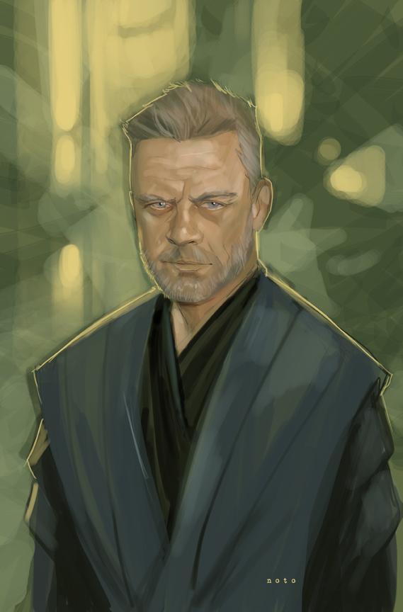 Jedi Master Luke Skywalker(by Phil Noto)